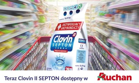 Clovin II Septon w hipermarketach Auchan