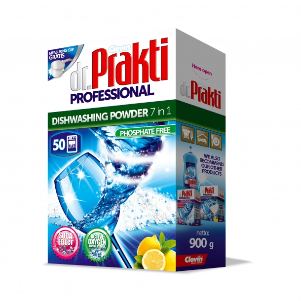 Dr.Prakti Professional – proszek do zmywarek