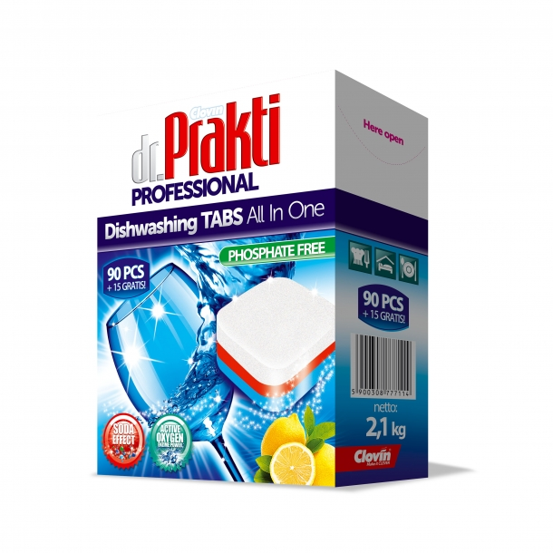 Dr.Prakti Professional – automatic dishwashing tablets