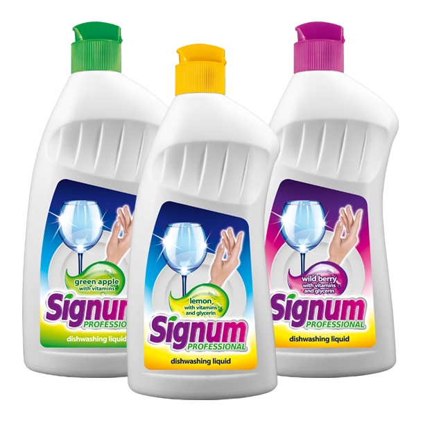 Signum – liquid for dishwashers