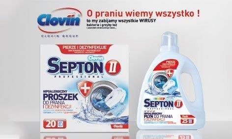 Reklama Clovin II Septon