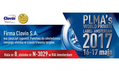 Clovin S.A. на міжнародній промисловій виставці PLMA's World Private Label Amsterdam 2017