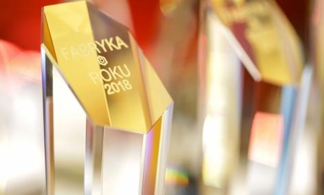 """Firma Clovin nagrodzona statuetką """"Fabryka Roku 2018"""" w kategorii branża FMCG"""