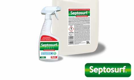 Instrukcja używania produktu dezynfekującego SEPTOSURF