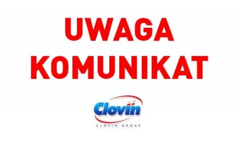 Odpowiedź Clovin S.A. na temat błędnych informacji dotyczących eliminacji wirusów w procesie prania